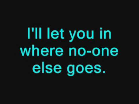Westlife-we got a little world of our own lyrics