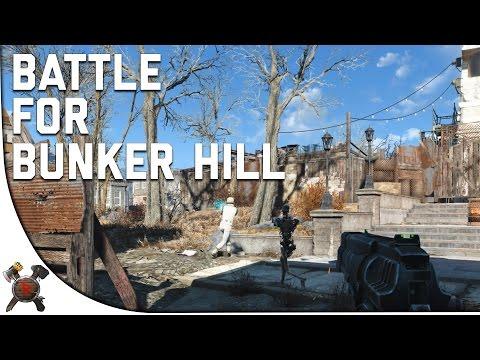 Fallout 4 Gameplay Walkthrough - Part 16: Battle of Bunker Hill! (Institute)
