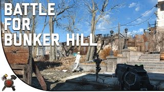 Fallout 4 Gameplay Walkthrough - Part 16: Battle of Bunker Hill! (Institute)