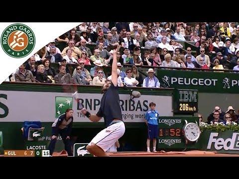 Ernests Gulbis v Roger Federer Highlights - Men's Round 4 2014 - Roland-Garros