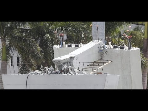 FIU Bridge Collapse Drawings explored Florida Bridge Collapse #4