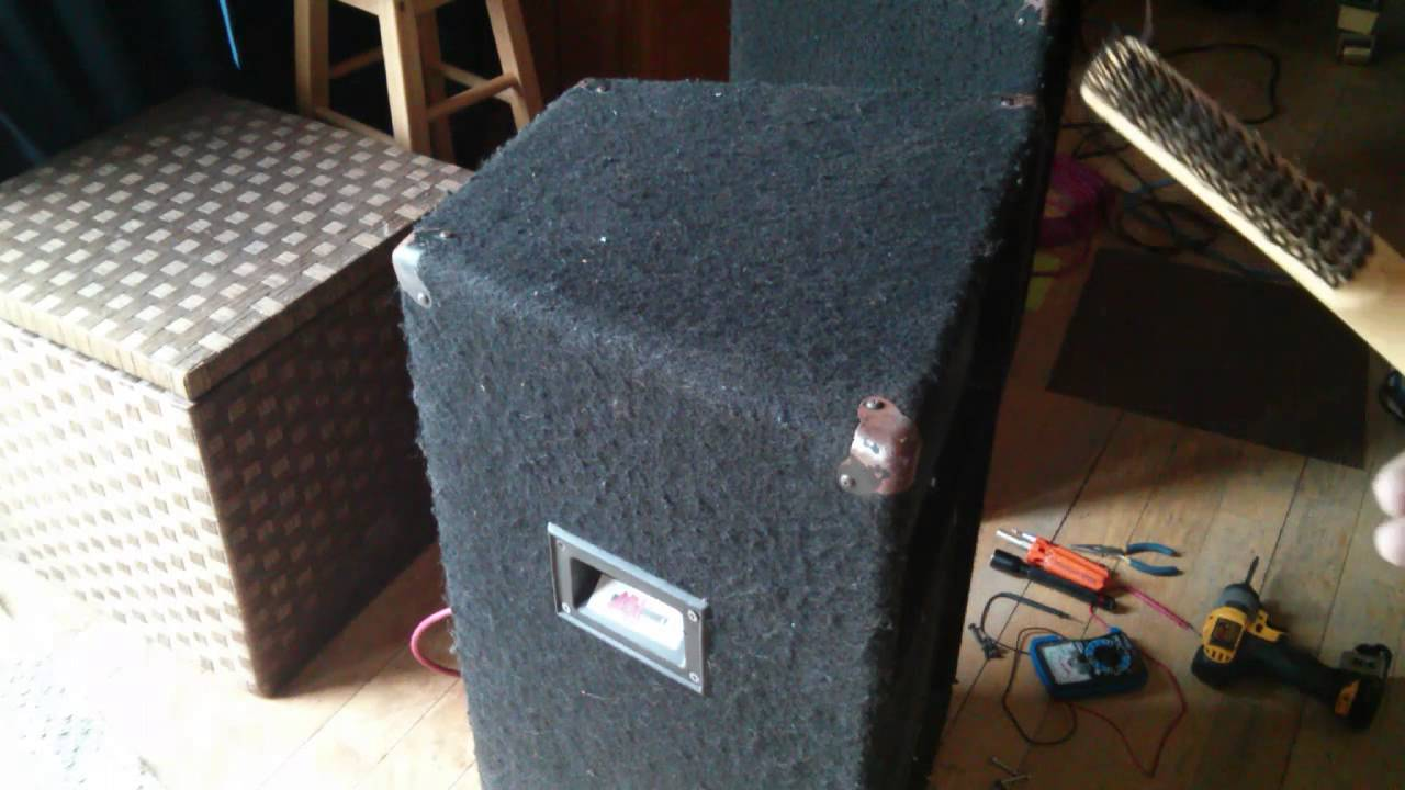 Speaker Cleaning, how to clean carpet covered speakers ...