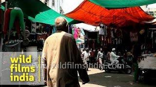 Ladies Salwar Suits For Sale At Street Market, Gandhi Road, Ahmedabad