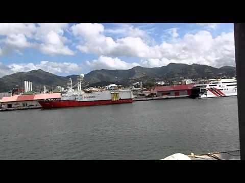 PB070001 Along the Port of Spain Docks, Trinidad.