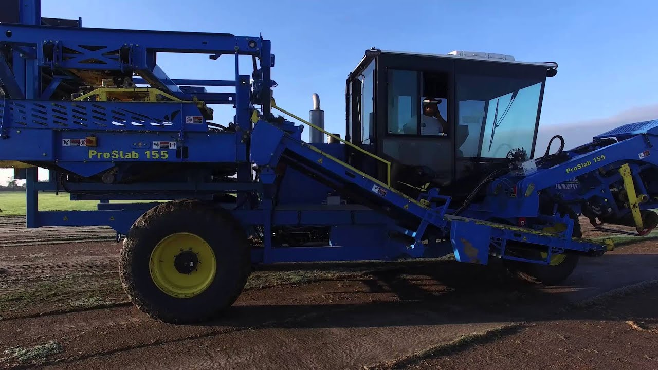 Smart Turf Harvesting Machine Boosts Productivity and Reduces Cost