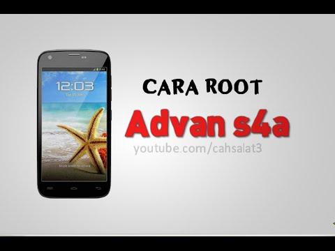 Cara Root Advan s4a