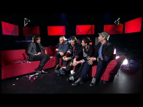 COLDPLAY - LOVERS IN JAPAN & INTERVIEW