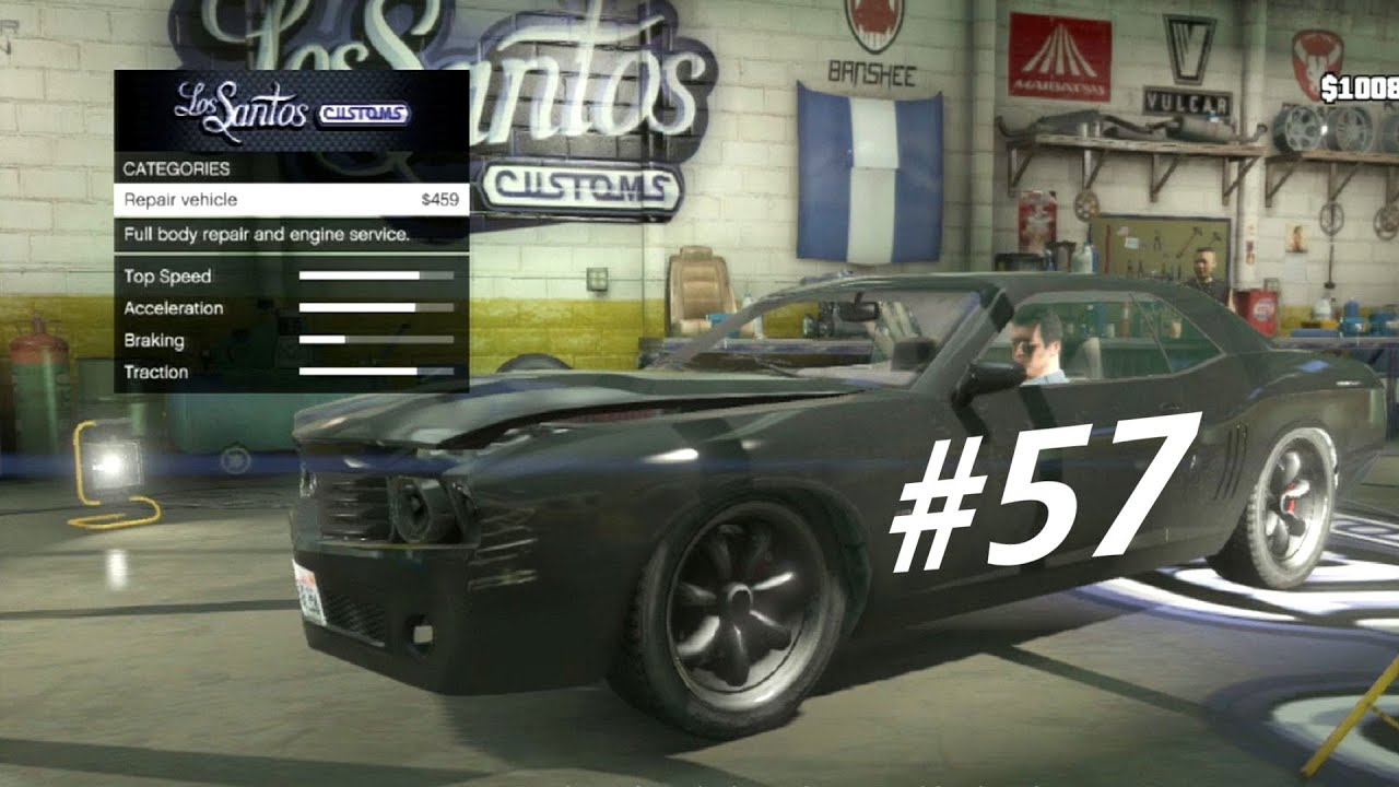 Grand Theft Auto Walkthrough Gameplay Part Muscle Cars