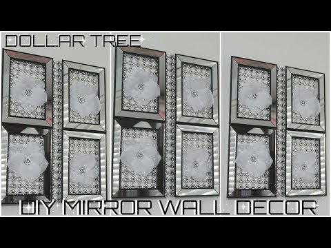 DIY DOLLAR TREE | MIRROR WALL DECOR |  DIY EASY & INEXPENSIVE ROOM DECOR IDEAS 2018 | PETALISBLESS