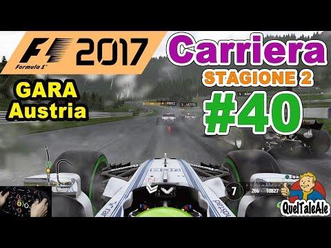 F1 2017 - PS4 Gameplay ITA - T300 - Carriera #40 - GARA Austria - All-in