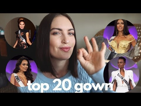TOP 20 EVENING GOWN | Miss Universe 2019 Preliminary