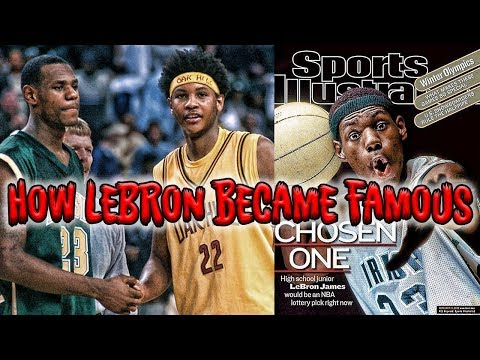 THE GAME THAT MADE LEBRON JAMES FAMOUS