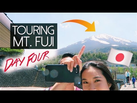 VISITING MT. FUJI + FLYING OVER JAPAN! | Tokyo Day 4