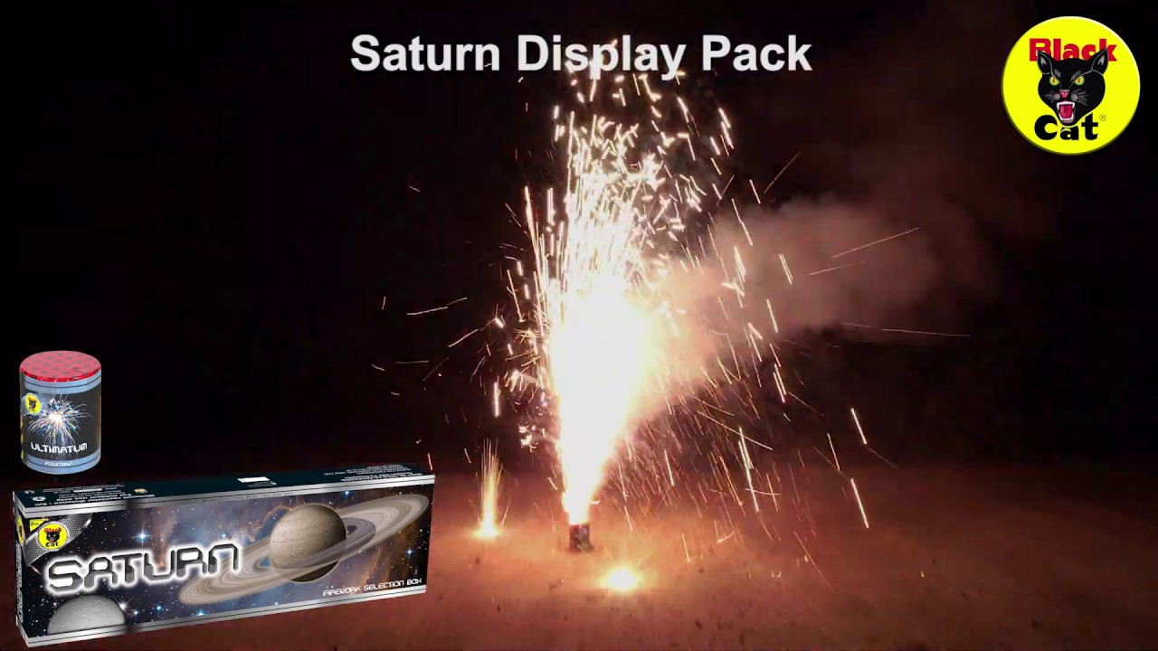 Saturn Firework Selection Box by Black Cat Fireworks