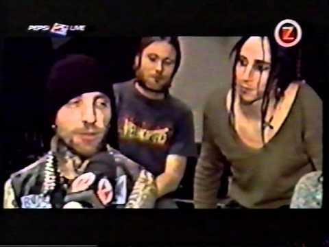 Backyard Babies interview on Swedish TV show Pepsi Live