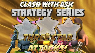Clash Of Clans   TH9 3 Star GoLava   Using Lightning for CC
