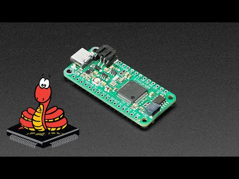 MicroPython running on a Feather STM32