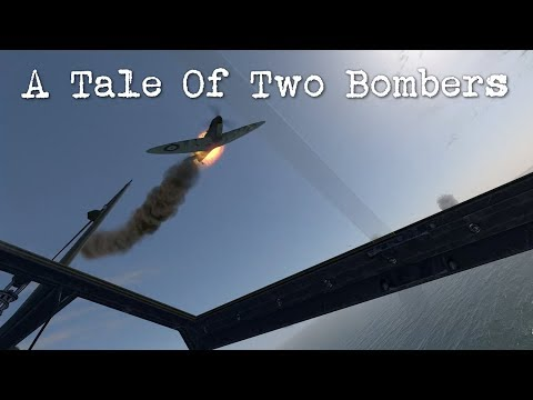 IL-2 Cliffs of Dover - A Tale Of Two Bombers