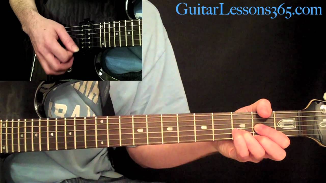Nothin But A Good Time Guitar Lesson Pt 1 - Poison - All Rhythm Guitar Parts