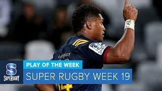 PLAY OF THE WEEK: 2018 Super Rugby Week 19