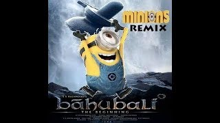 Bahubali 2 minions version tamil