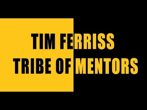 tribe of mentors  Tim Ferriss: Tribe of Mentors - YouTube