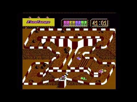 Super Off Road - Four-Player Mode (Actual NES Capture)