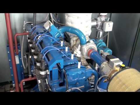 SCANIA Bio Gas Engine SGI-12-ST