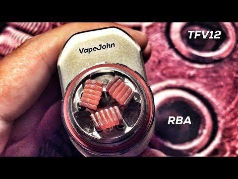 SMOK TFV12 - RBA - Triple Coil Deck