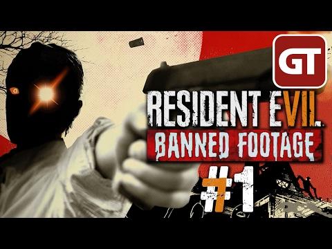 Resident Evil 7 Banned Footage DLC Gameplay #1 - Let's Play Ethan Must Die - Deutsch / German