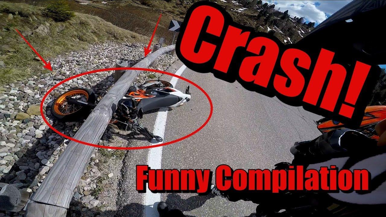 KTM SMC R 690 CRASH! || Unfall || Fail || Humorous Crash Compilation || Supermoto //RWC