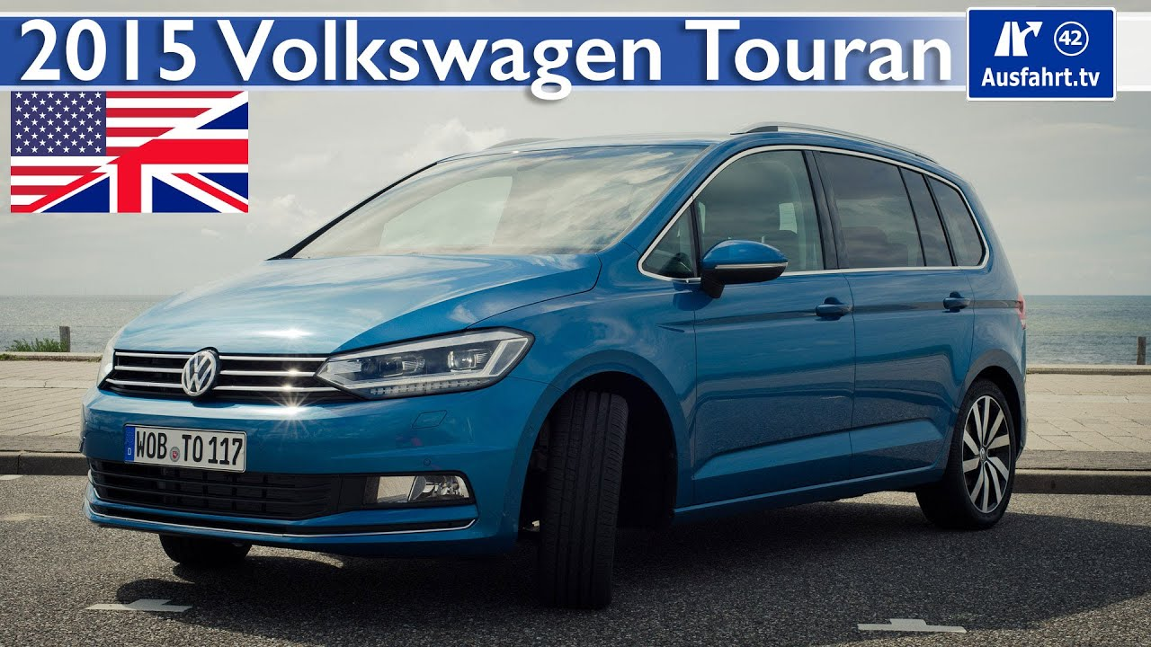 2015 vw volkswagen touran test test drive and in depth review english youtube. Black Bedroom Furniture Sets. Home Design Ideas