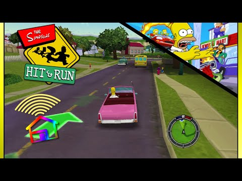 The Simpsons: Hit \u0026 Run Review - ColourShed