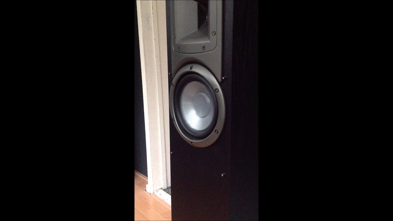 Having Fun With Klipsch Synergy F1 Speakers Youtube