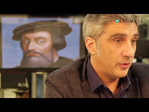 Entrevista a Iván Vélez sobre Hernán Cortés (La Gaceta)
