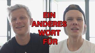 EIN ANDERES WORT FÜR!