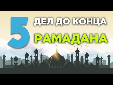 5 дел, которые
