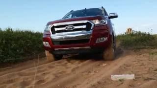 Test drive com a nova Ranger 2017 no quadro #SegueEu