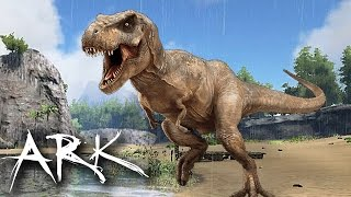 阿津 方舟 生存進化 ARK Survival Evolved 好多恐龍哇!!