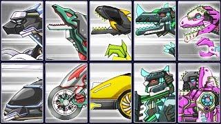 Dino Robot Corps Recolor #10: Ninja Velociraptor & Black Union | Eftsei Gaming