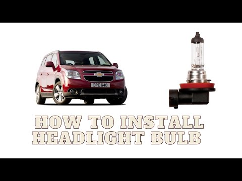 How To Replace Headlight Bulbs Chevy Cruize