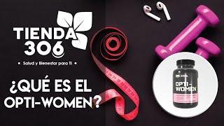 ON Optimum Nutrition Opti-Women Suplemento Multivitaminico para Mujer video