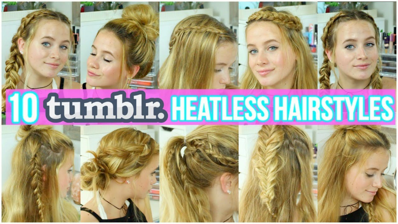 10 Cute Easy Hairstyles For Summer