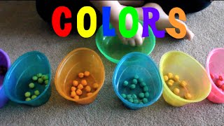 Learn Colors and Sorting With Cereal Balls