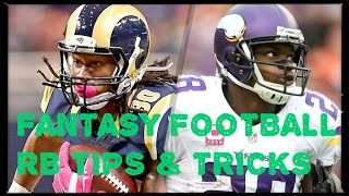 Fantasy Football Tips & Tricks 2016: NFL RB Rankings - Sleepers, Busts & Breakouts