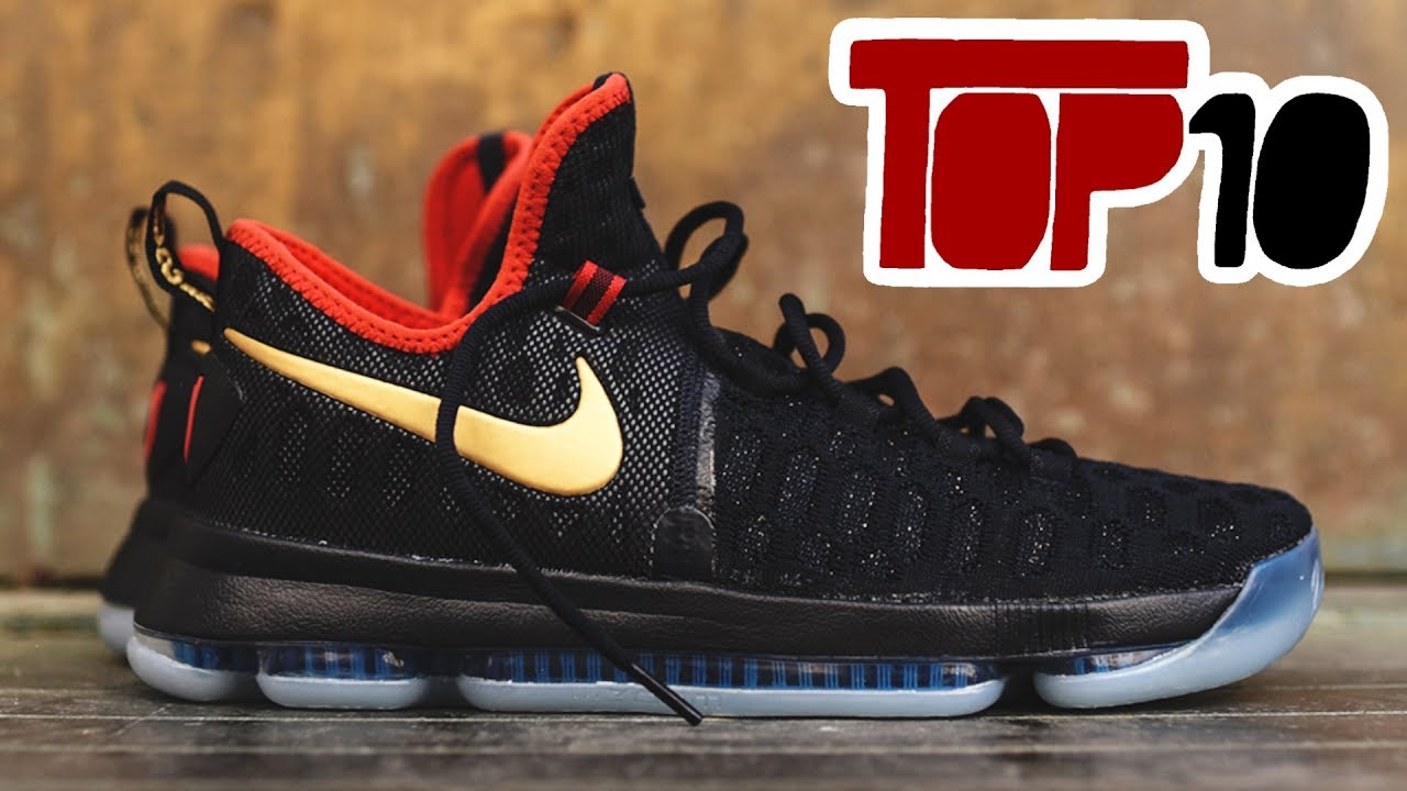830ded19aaa9 Top 10 Nike Kd 9 Shoes Of 2017 - YouTube