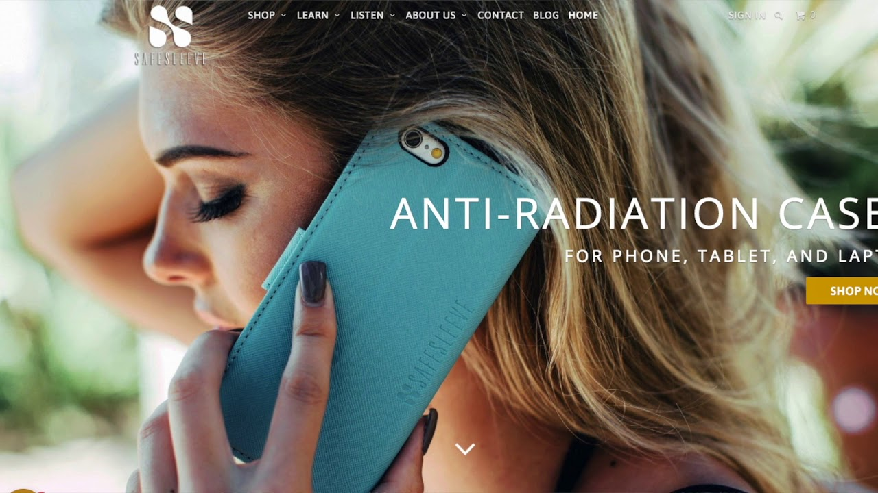 hot sales 86797 957cb SafeSleeve: The iPhone Case That Blocks Radiation and RFID