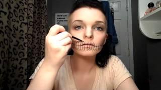 Skull Makeup timelapse Thumbnail