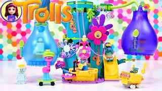 Lego Trolls World Tour - Pop Village Celebration Build