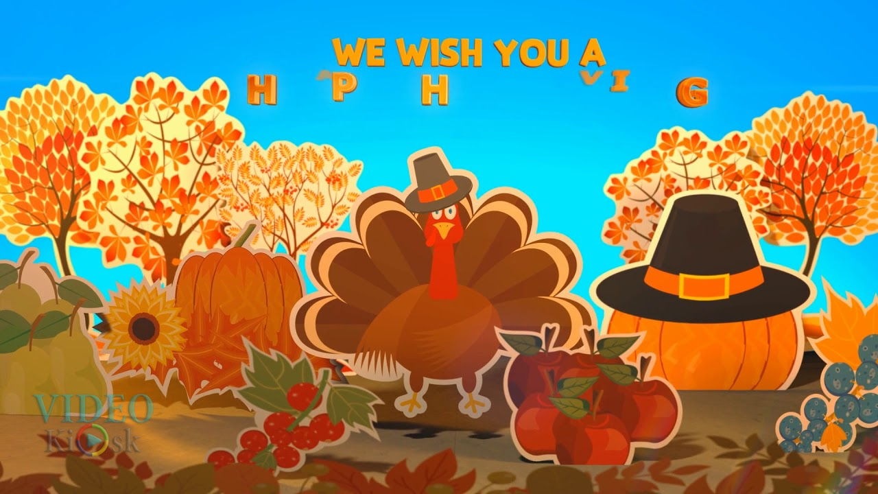 Happy thanksgiving message greeting video sending you our warmest happy thanksgiving message greeting video sending you our warmest wishes videokiosk kristyandbryce Image collections